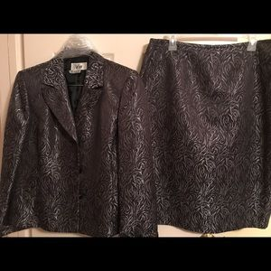 Woman's suit-  jacket and skirt